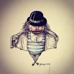 fred agid clown