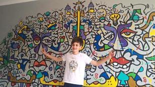 Le street art à la maison