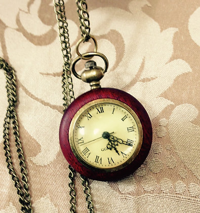 Round Globe Pocket Watch
