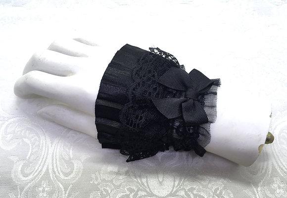 Lace gloves short