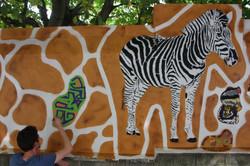 mosko fresque zebre