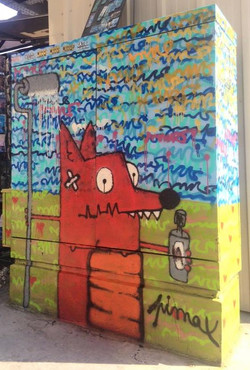 Pimax fresque outdoor animal