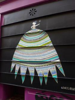 Solylaisse fresque robe