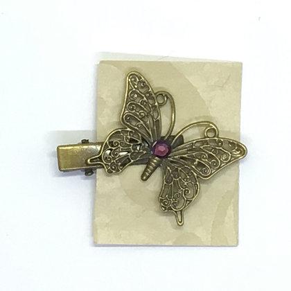 Clip Purple Butterfly