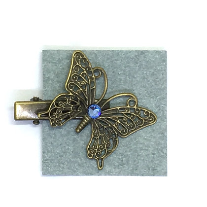Clip Lavender Butterfly