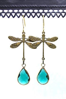 Dragonfly Bras/Petrol