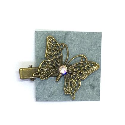 Clip Light Pink Butterfly
