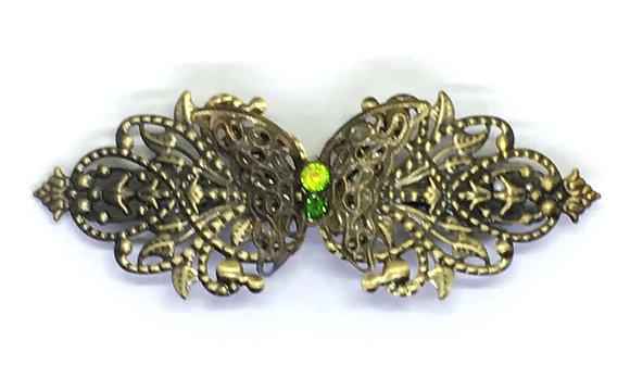 Hair Clip Absinthe Butterfly