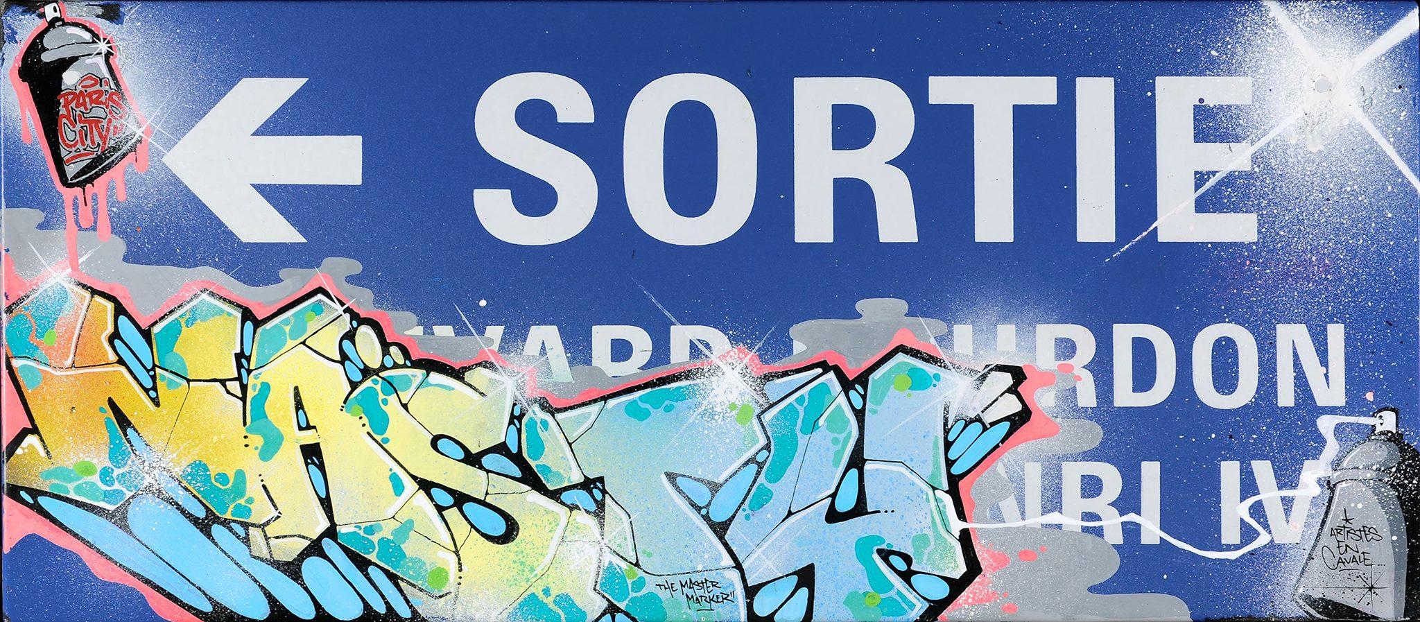 Nasty fresque metro