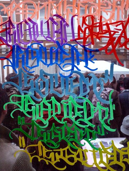 Popay calligraphie