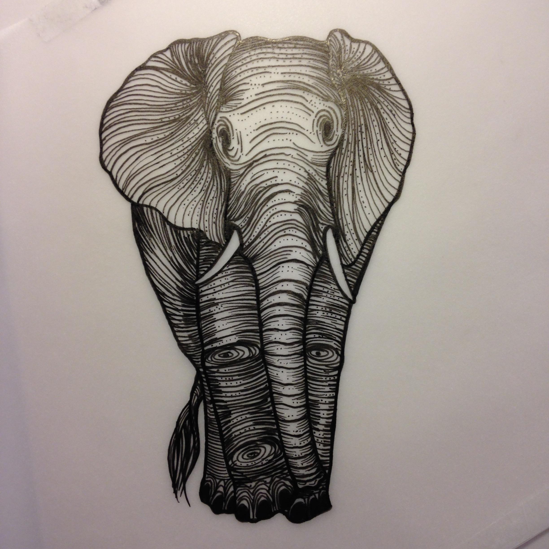 Fred Agid elephant