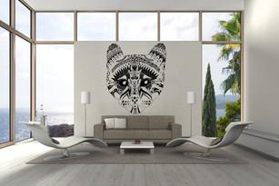 En noir et blanc, tatoueurs de murs