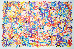 Louis Bottero calligraffiti