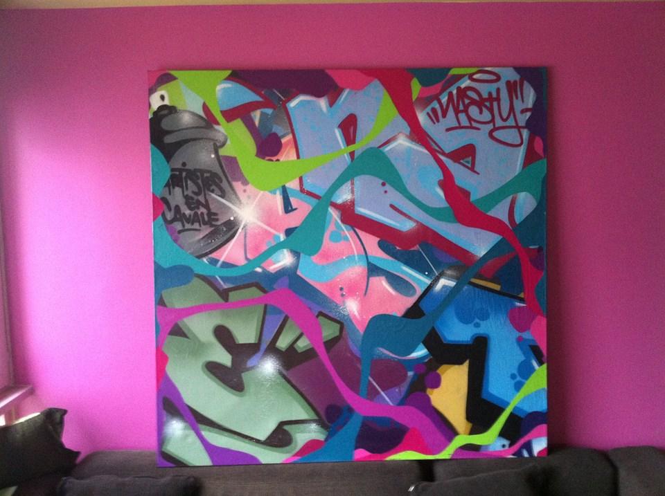 Nasty graffiti
