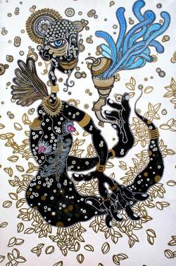 Michael Relave peinture