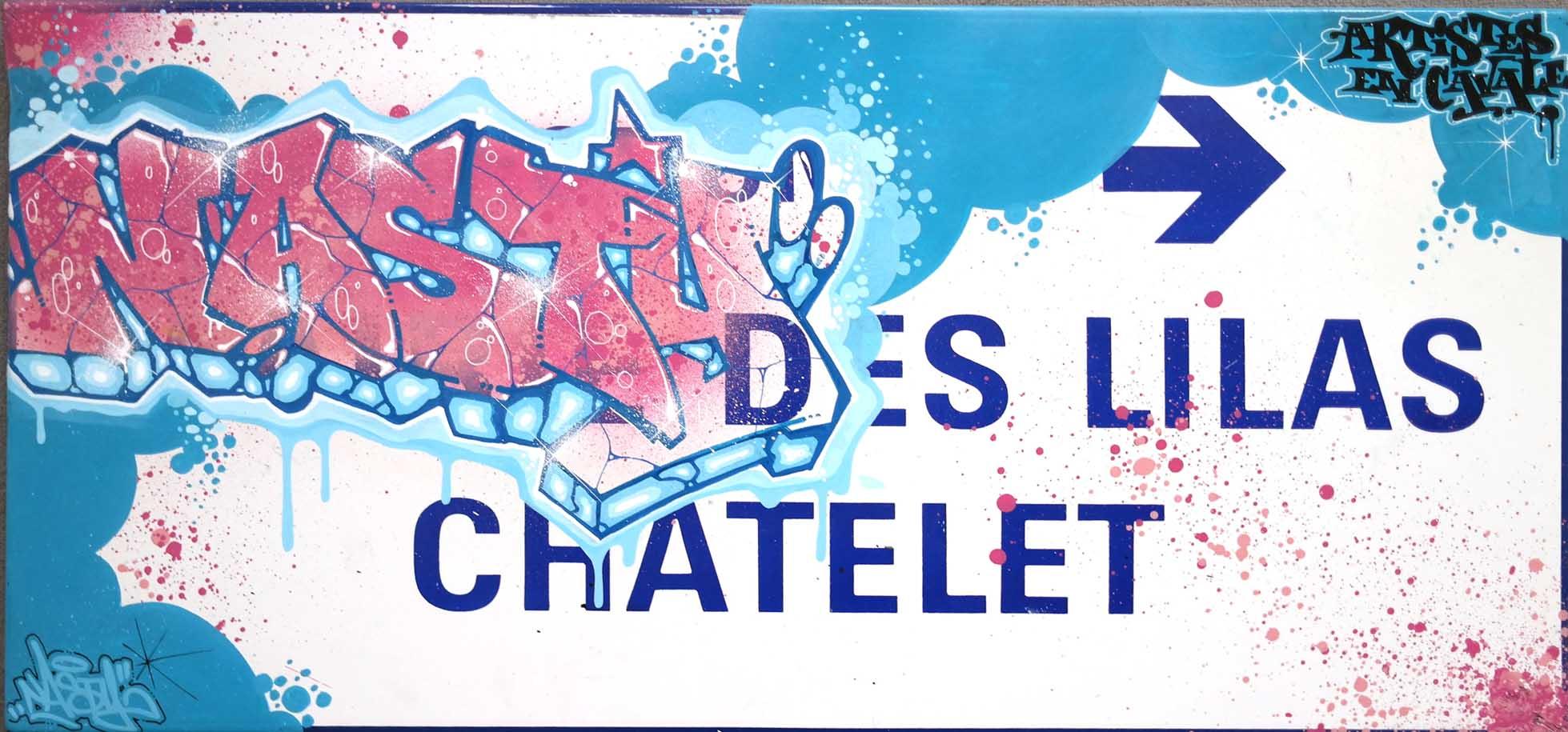 Nasty fresque chatelet