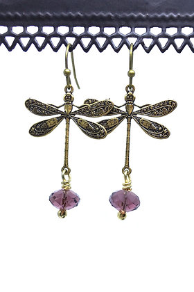 Dragonfly Small Purple