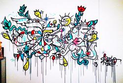 Louis Bottero fresque couleur