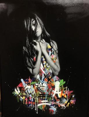 Le nu en street art