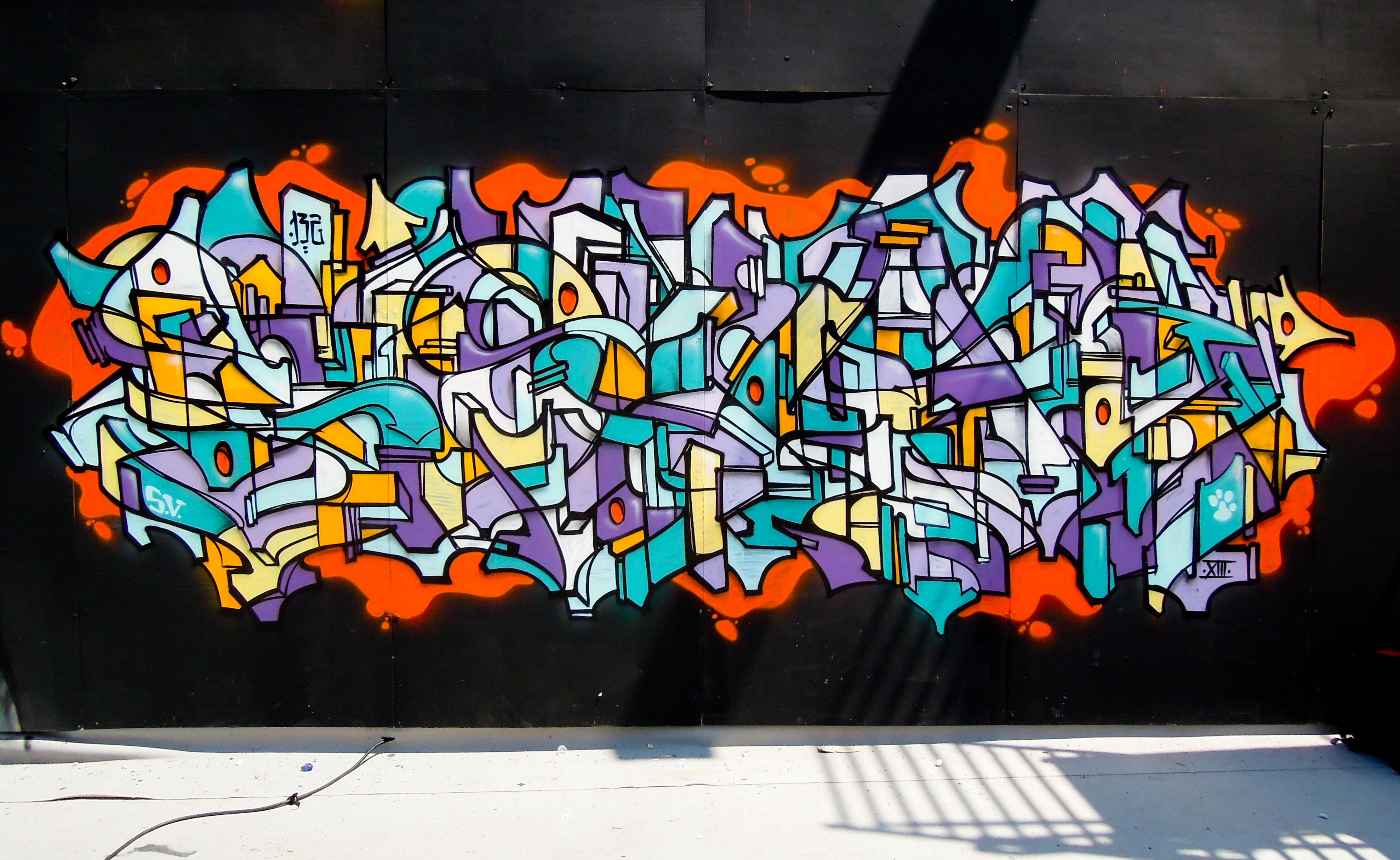 Soklak fresque déco
