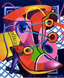 marcelo artiste peintre