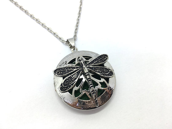 Perfume Locket Dragonfly