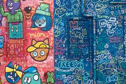 Chanoir  graffiti chats