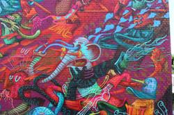 peinture murale Alexone