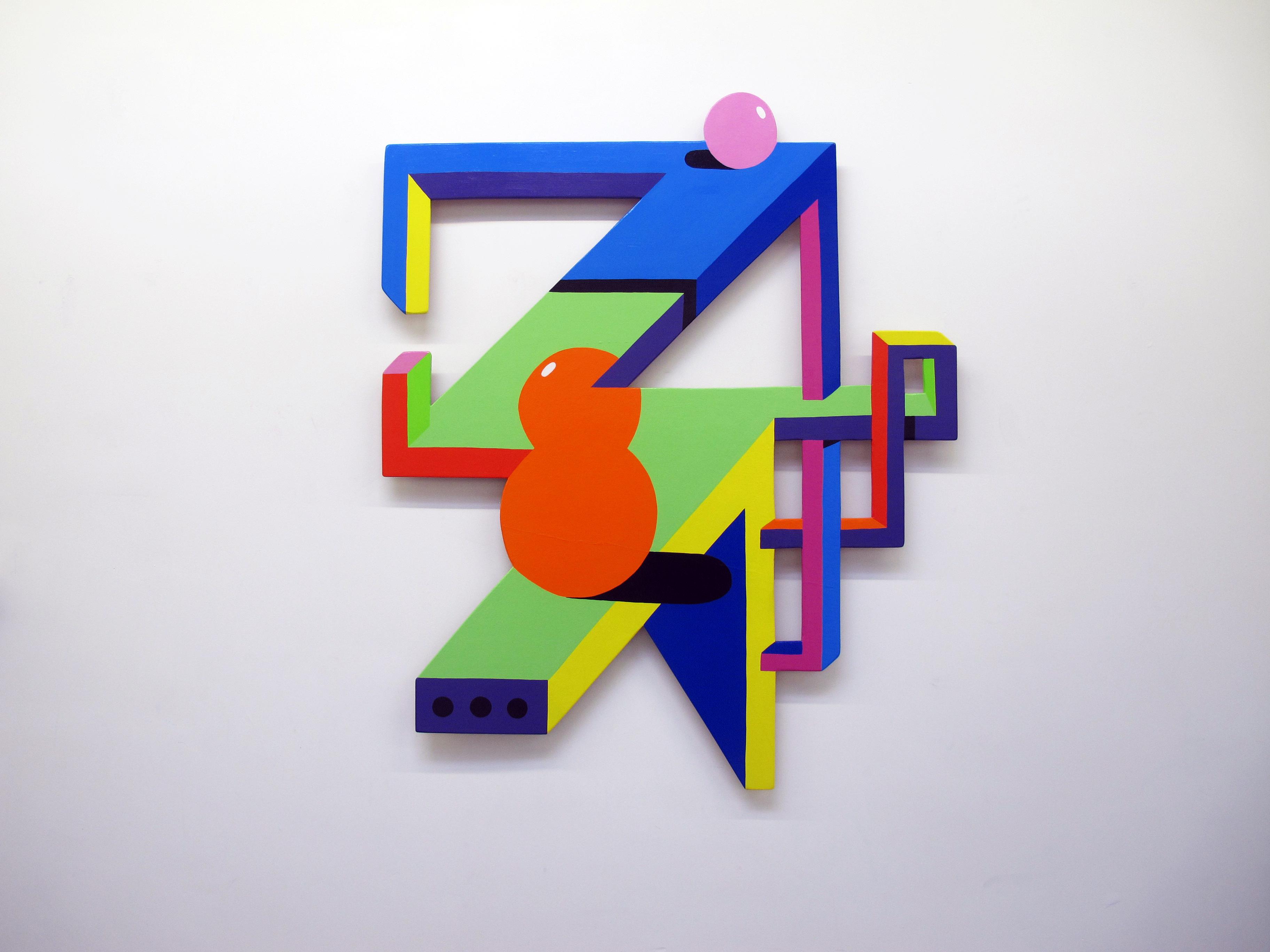 2shy géométrie grafitti