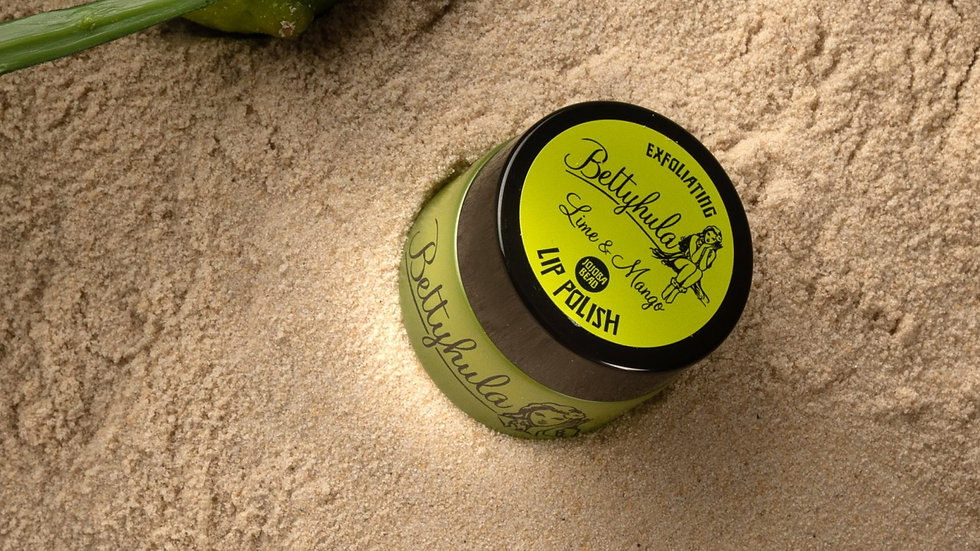 Exfoliating lip polish - Lime and Mango