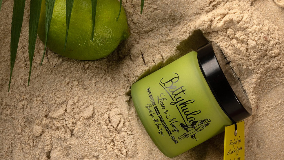 Shea Butter body Moisturiser - Lime and Mango