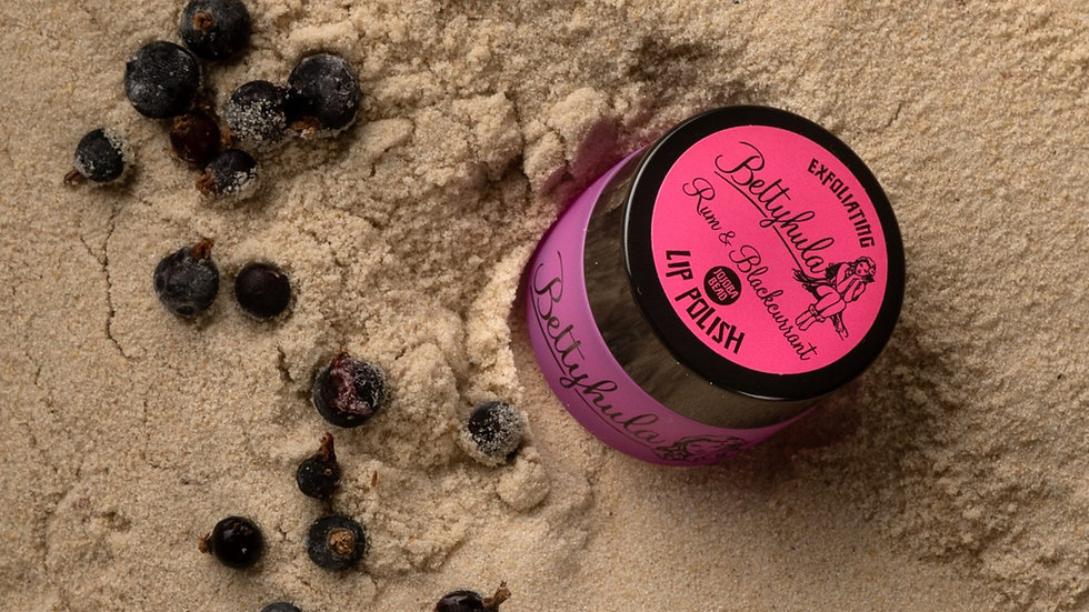 Exfoliating Lip Polish - Rum & blackcurrant