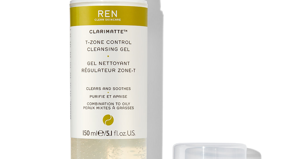 T Zone control cleansing gel