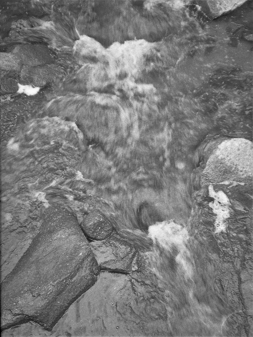 Water in motion; Patapsco River, Maryland