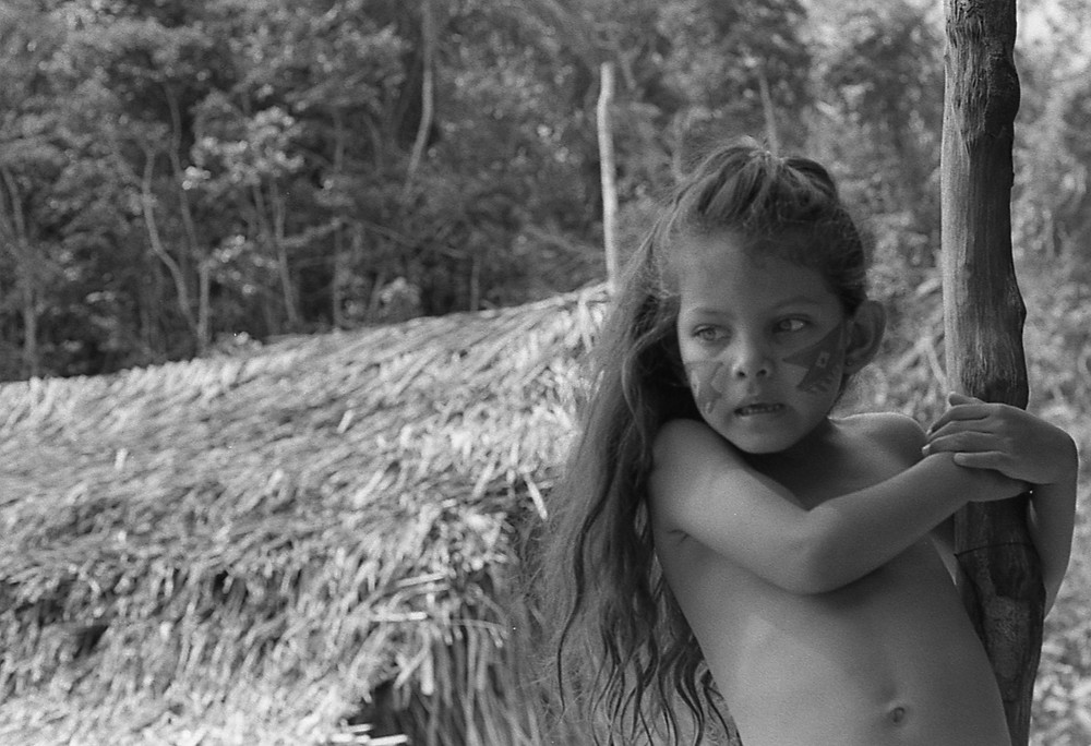 Native girl. Amazonas, Brasil