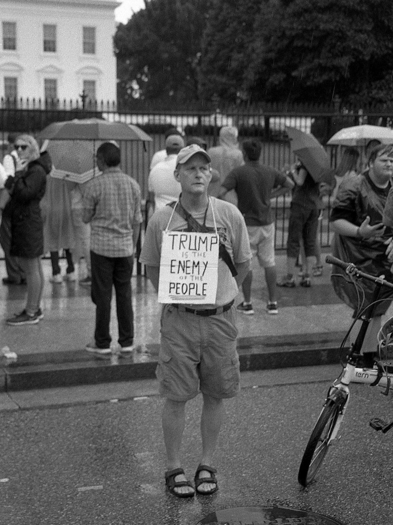 Trump Protester.  Washington, DC.