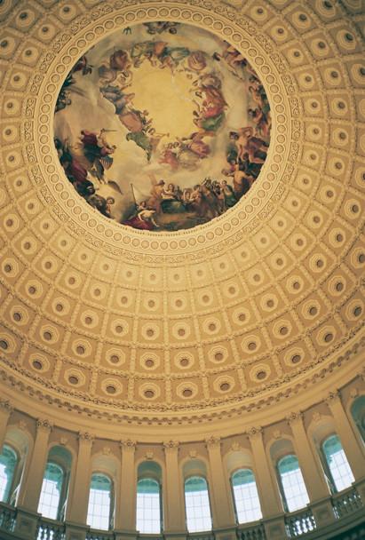 Capitol fresco in Washington, D.C.