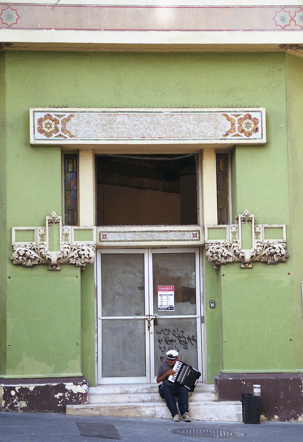 Old San Juan Accordion Player