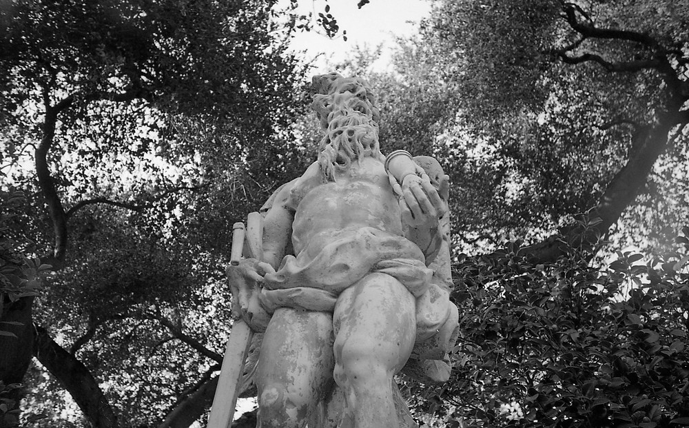 Statue at The Huntington Library, Art Collections, and Botanical Gardens