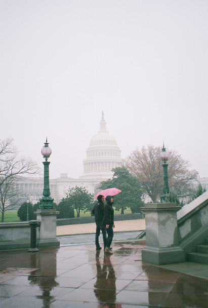 View of the Capitol Building in Washington, D.C.
