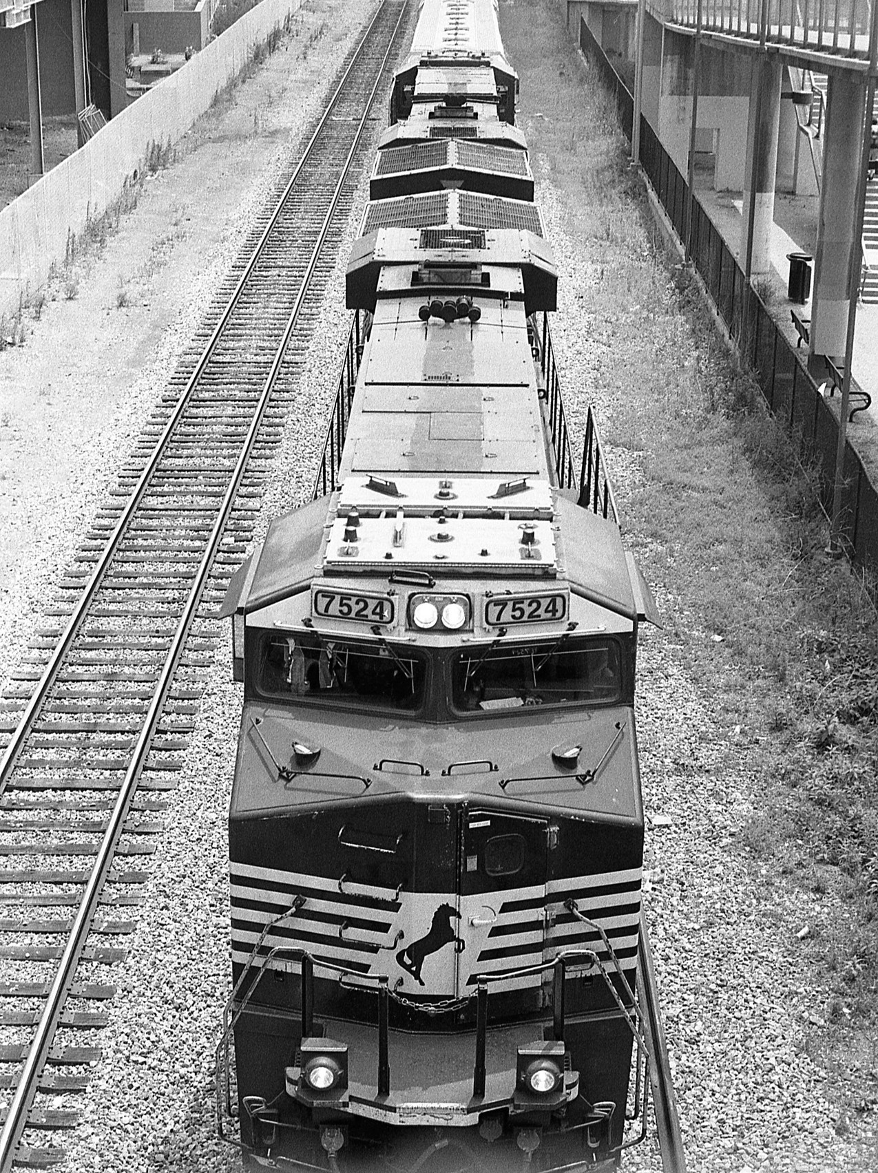 Train in Philadelphia, PA.