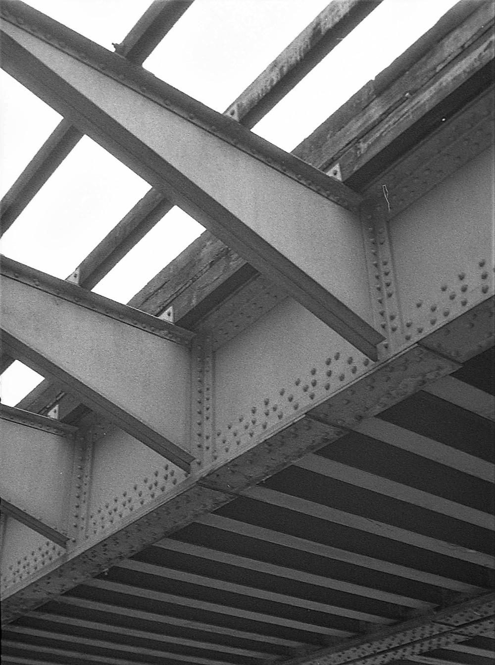 Under the bridge; Ellicott City, Maryland