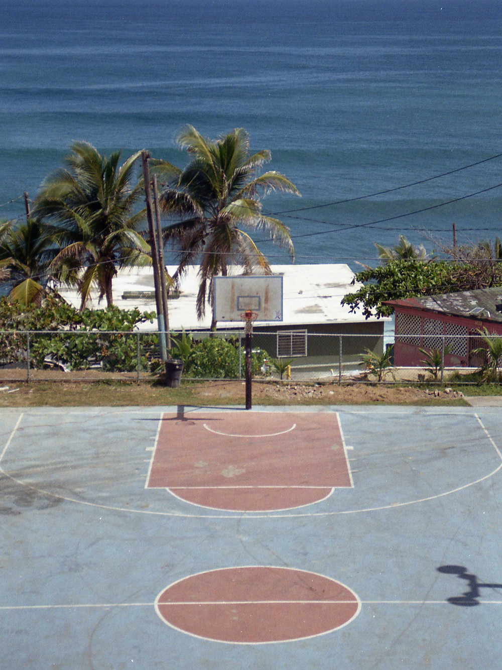 Carmelo Anthony Court in San Juan, Puerto Rico