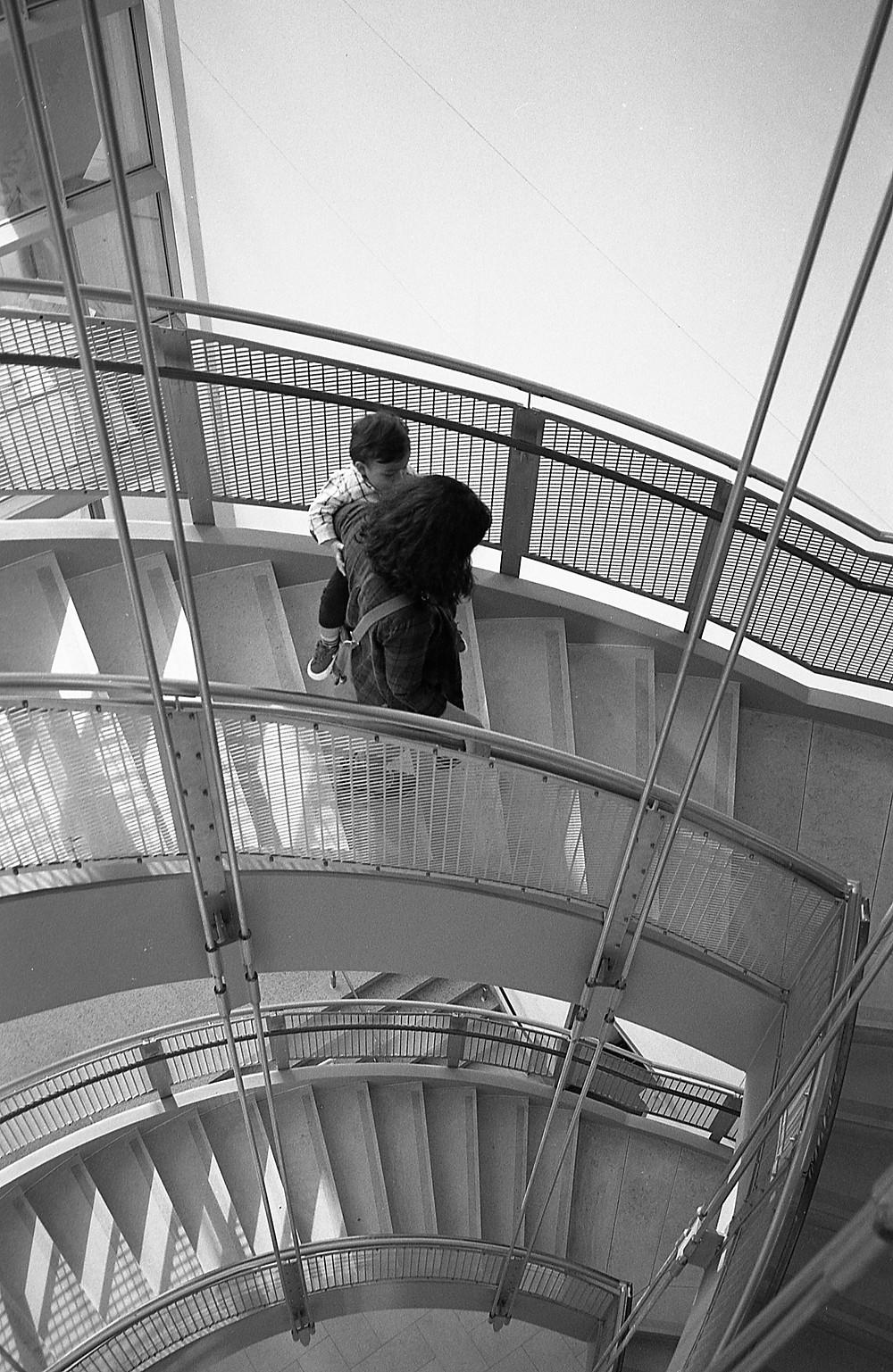 Walter's Art Museum stairs