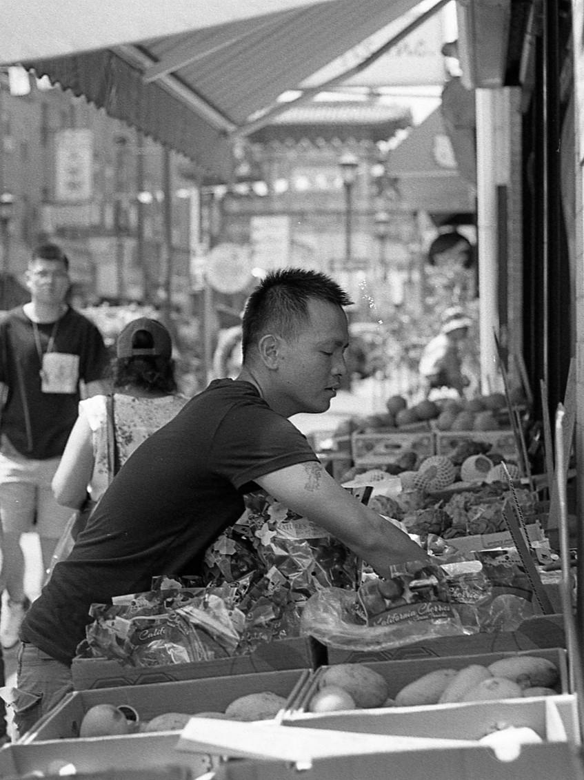 Chinatown.  Philadelphia, PA.