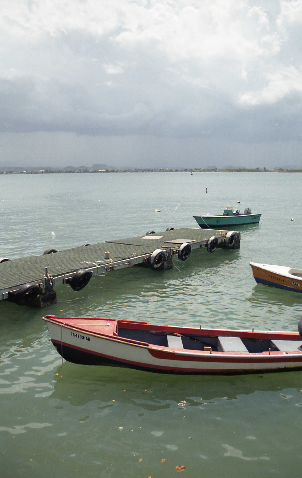 Fishing boats in Old San Juan, Puerto Rico
