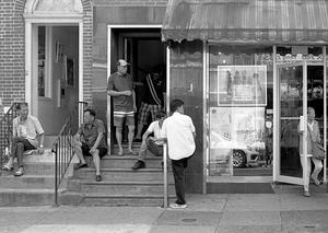 Men in Chinatown.  Philadelphia, PA.
