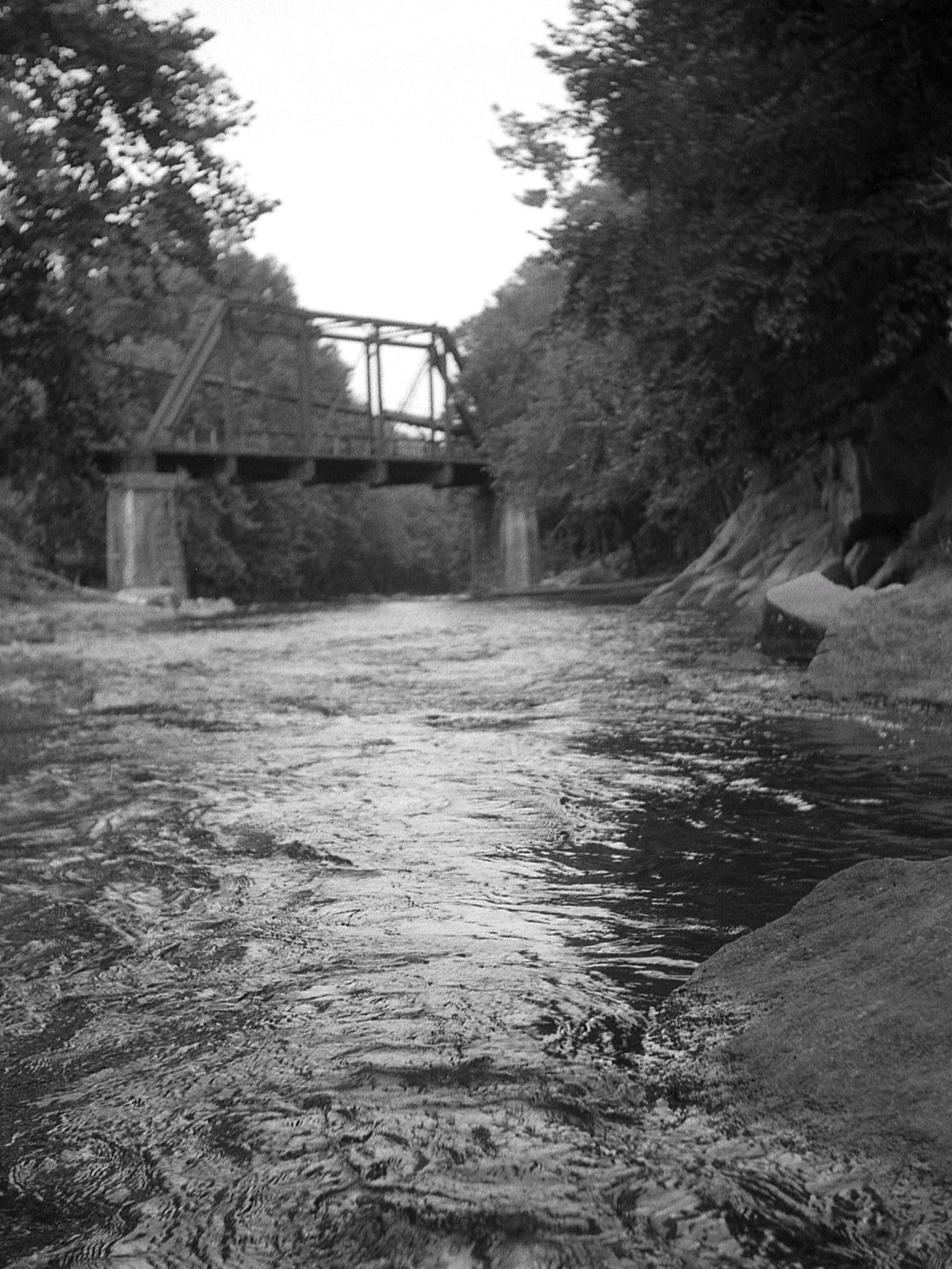 Patapsco River Black & White
