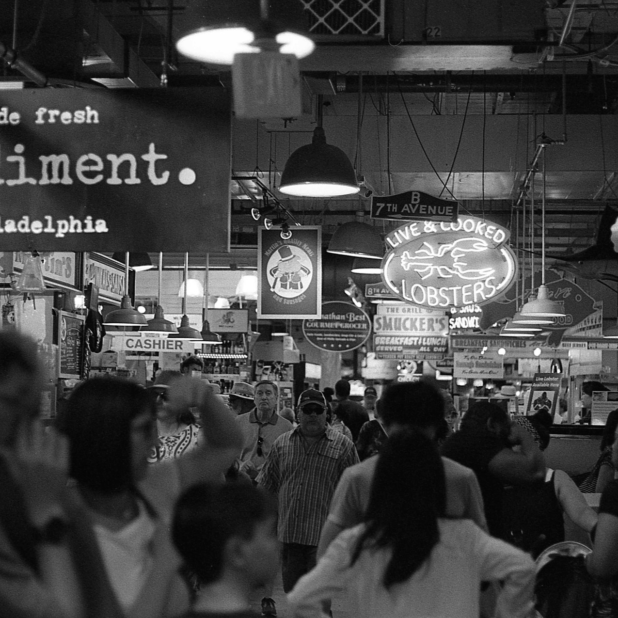 Reading Terminal Market.  Philadelphia, PA.