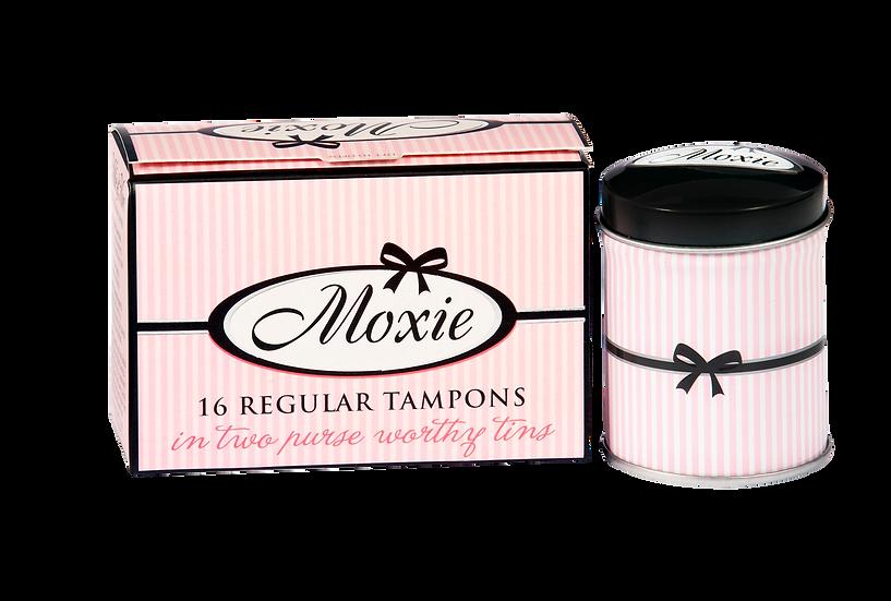 Moxie regular tampons